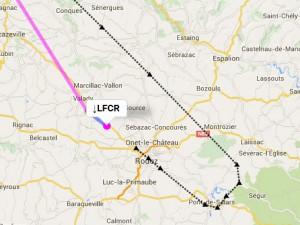 Track RNAV rwy31 LFCR